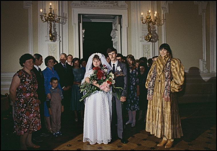 Fashion Photoshoot In Leningrad 1987