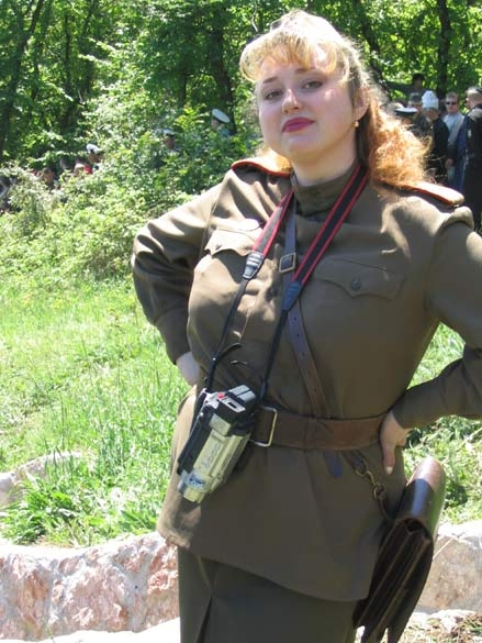 Lady In Uniform