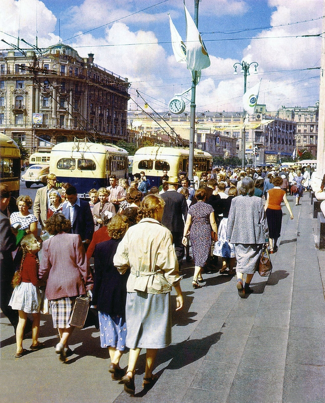 The Bright Festival In Post-War Moscow