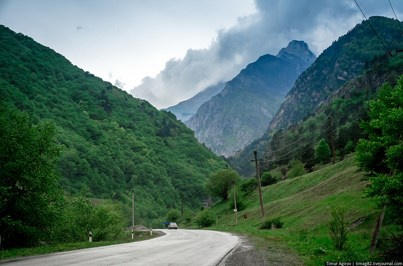 Caucasian Canyons Preserving the History