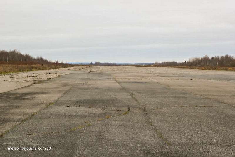 At the Abandoned Airfield