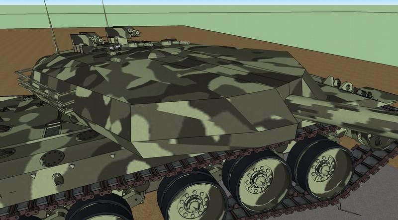 The First Georgian Tank!