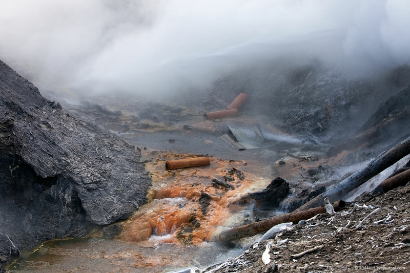 Vapors of Kamchatka