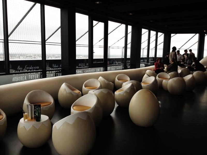 Giant Eggs Bar in France