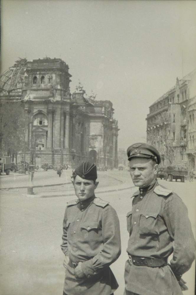 Soviet Tourists in Germany, 1945