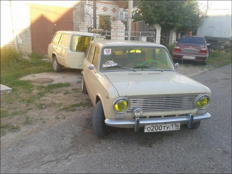 A Car and a Half of a Car