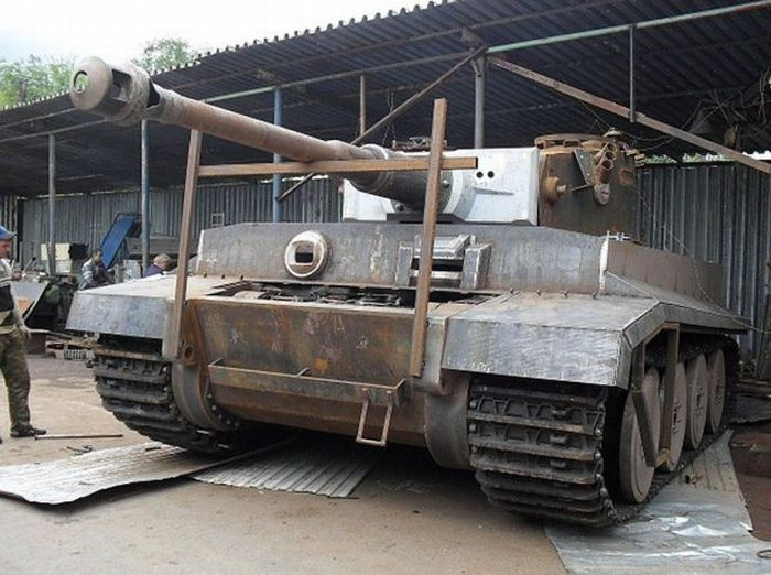 How To Make A Tank In Your Garage