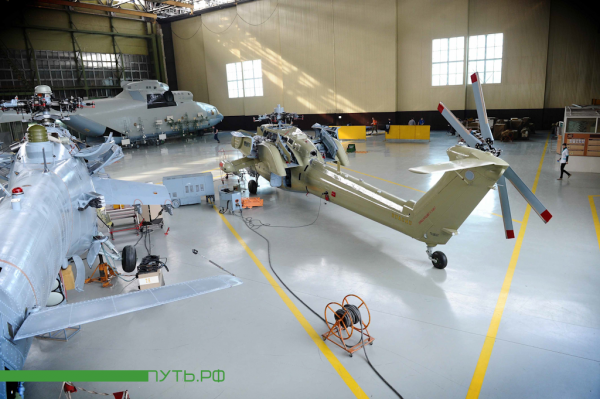 How Helicopters Are Assembled