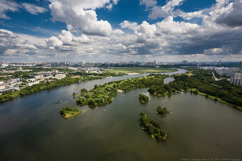 Helicopter Tour Around Moscow