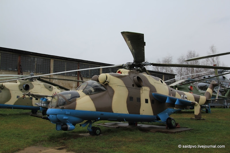 Helicopters As Museum Exhibits