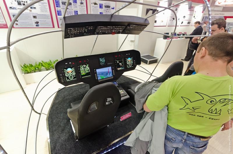 Mi-171A2座舱展示