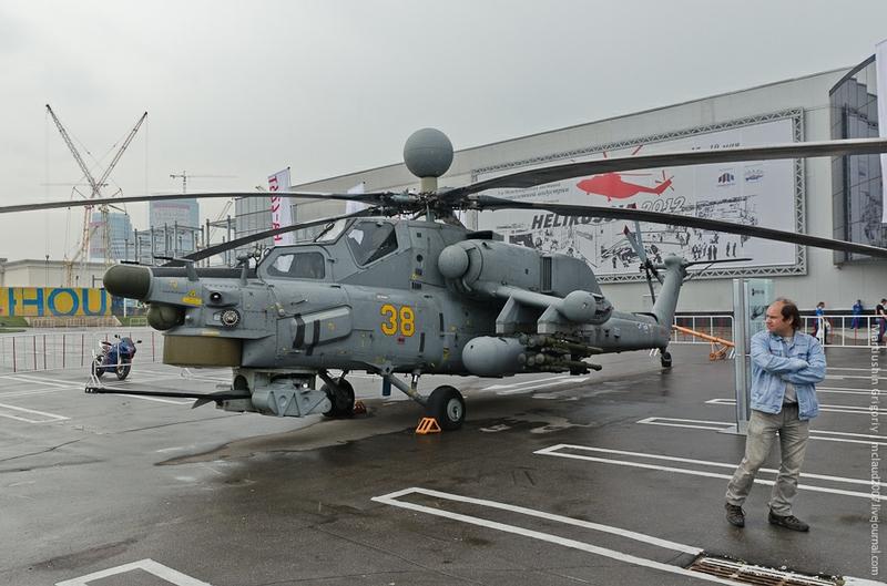 Mi-28双座全天候反装甲攻击直升机