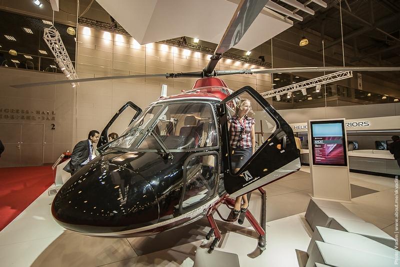 第5届俄罗斯国际直升机展于5月17-5月19日在莫斯科举行。