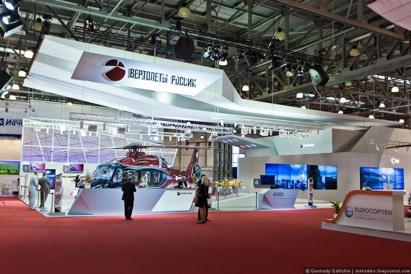 Helirussia Expo Moscow