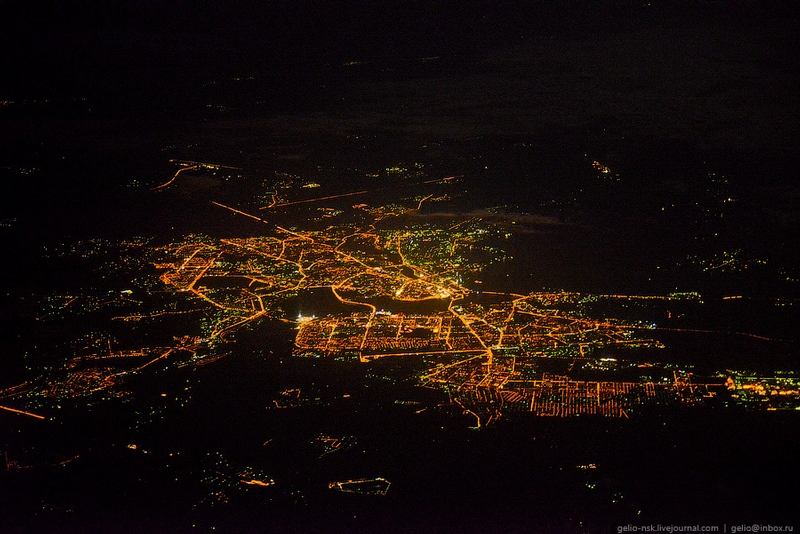Flying Over the Capital of Tatarstan