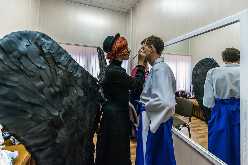 HINODE or Sunrise of the Russian Cosplay