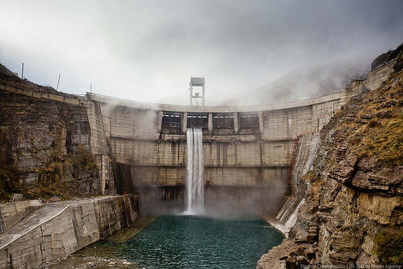 How Beautiful a Hydro Power Plant May Be?