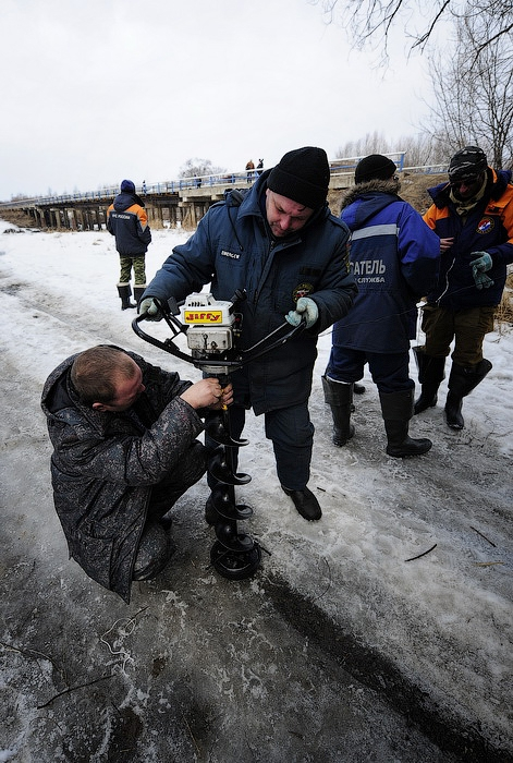 Ice Blasting In Primorskiy Territory