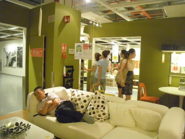 Make Yourself Comfortable In a Chinese IKEA