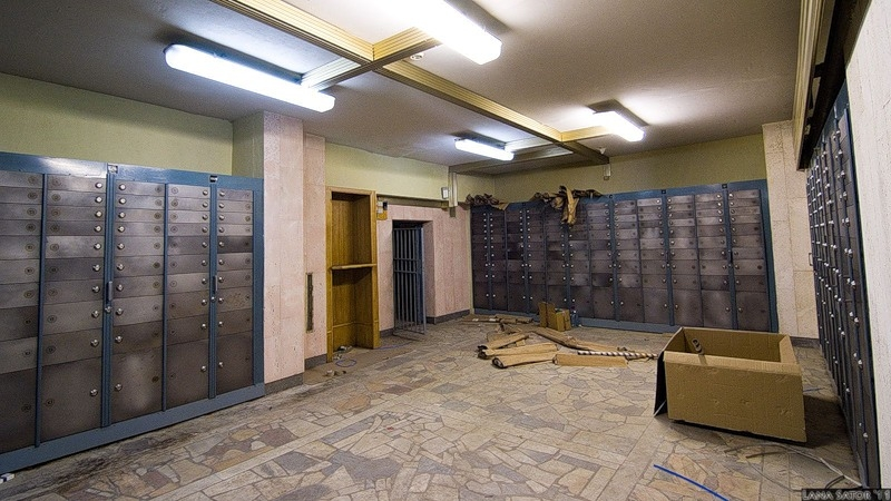 Abandoned Bank Vault And Department Store