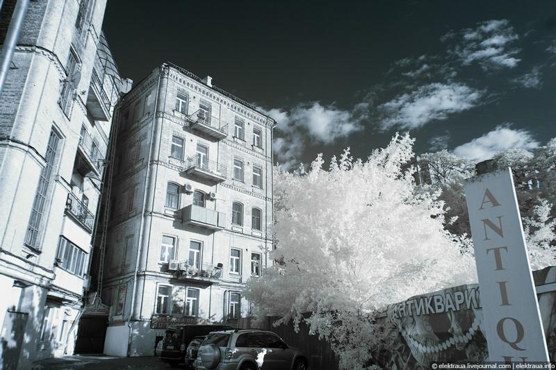 Infrared Kiev: Andrews Descent