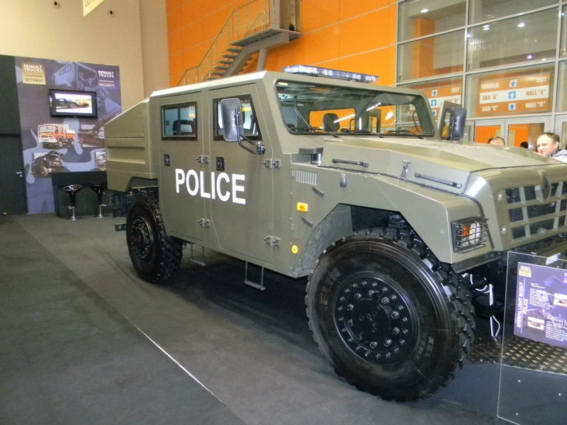 Armored Cars Aimed To Protect