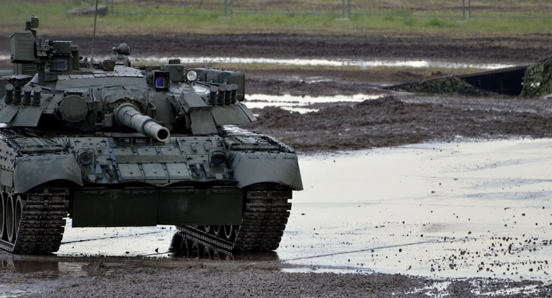 Mud, Fire And Tanks