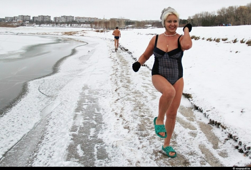 Happy Winter Swimming