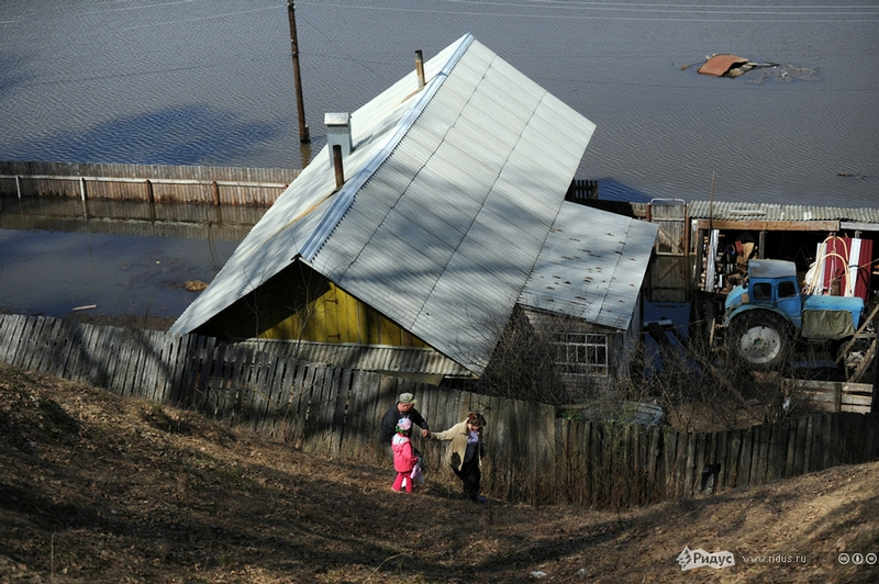 Kadom, Another Victim of Flooding