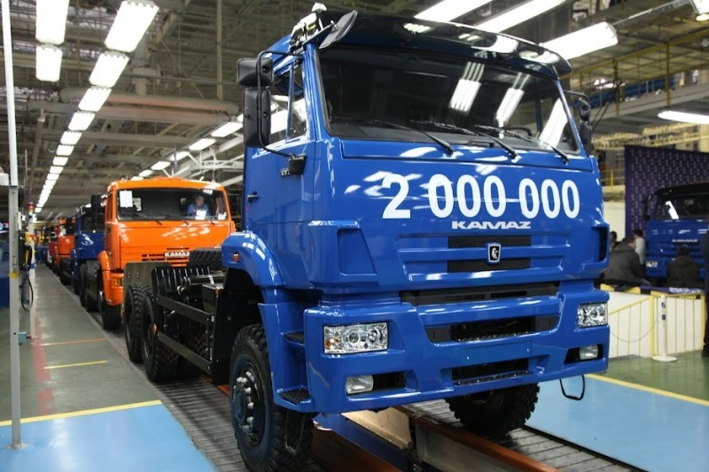 KamAZ Releases Its 2,000,000th Truck!
