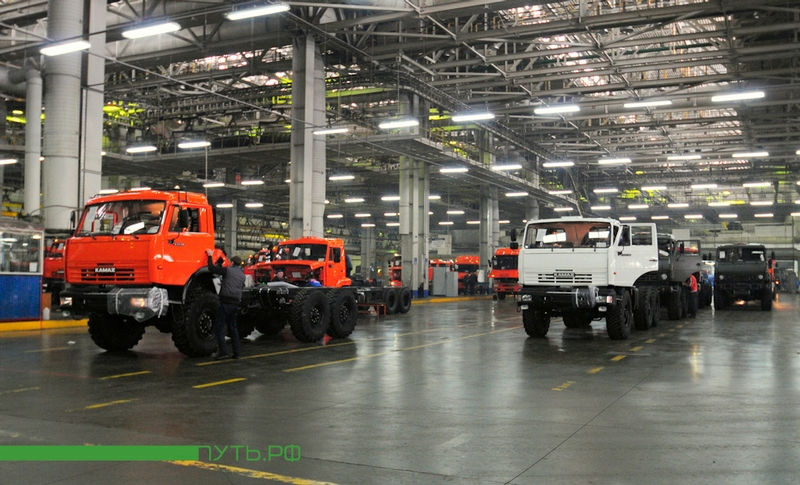 Russian Trucks Production