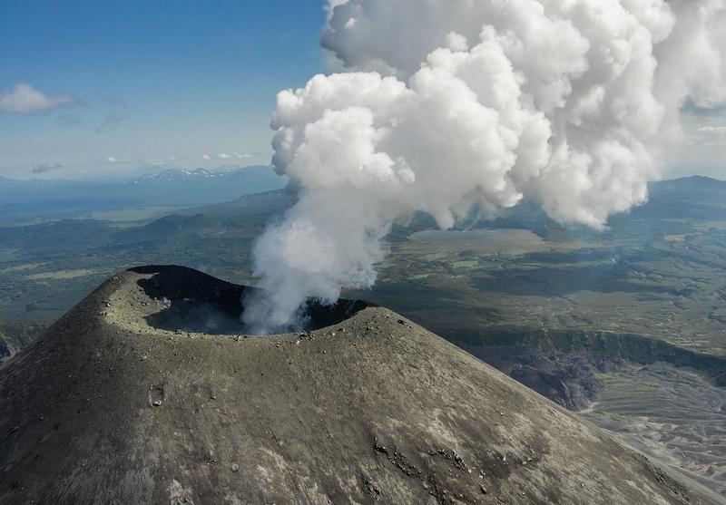Flight Over the Volcanoes of Kamchatka