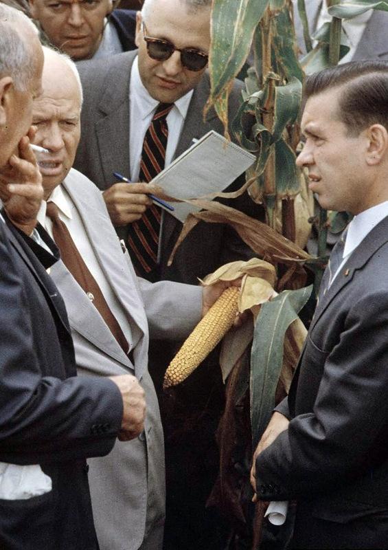 Khrushchev On a Visit to America