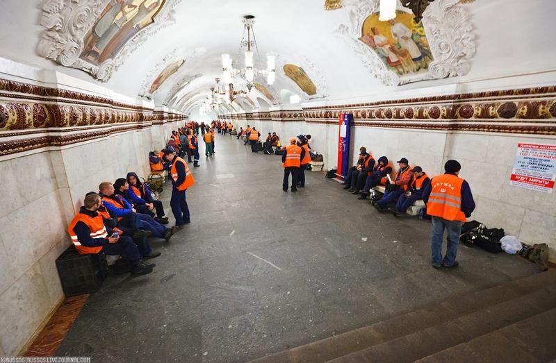 Joyride Around Kievskaya Metro Station