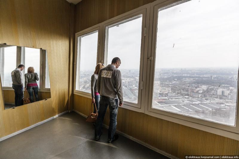 In the Kiev TV Tower