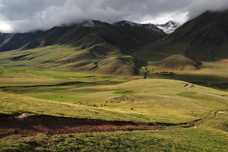 Landscapes of Kirghizia