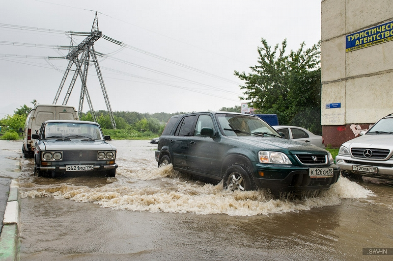 Flood On a Micro-District Scale