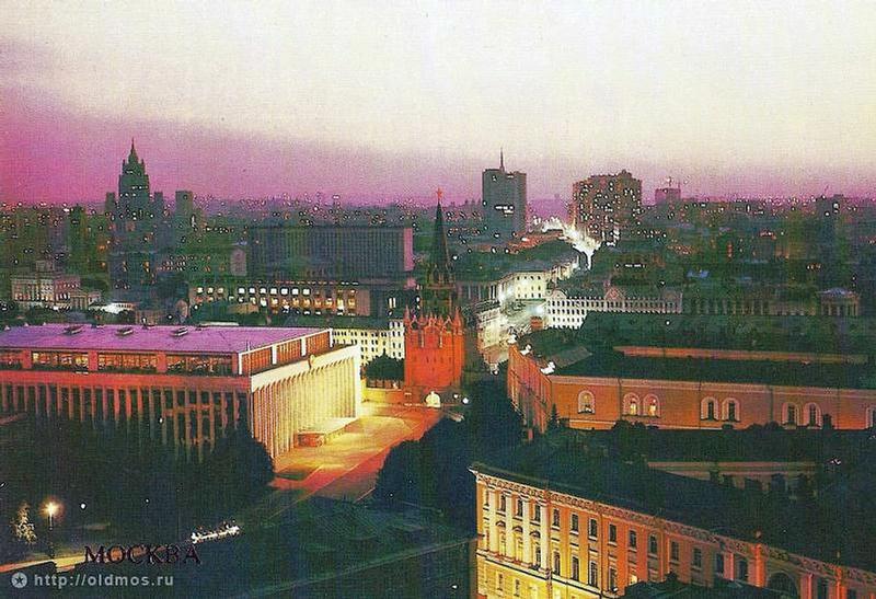 Illumination of the Moscow Kremlin Through Time