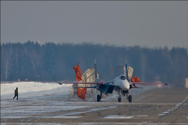 Burning Hot Air Of Kubinka Air Base