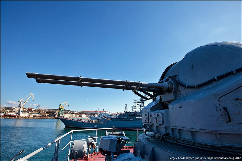 Warship Caesar Kunikov