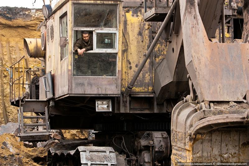 At the Kuznetsk Coal Basin