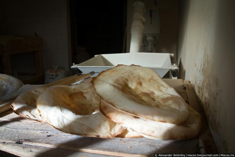 Abkhazian Lavash Making