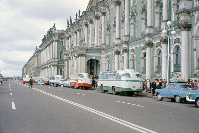 Travelling Throughout Leningrad In The 1960s