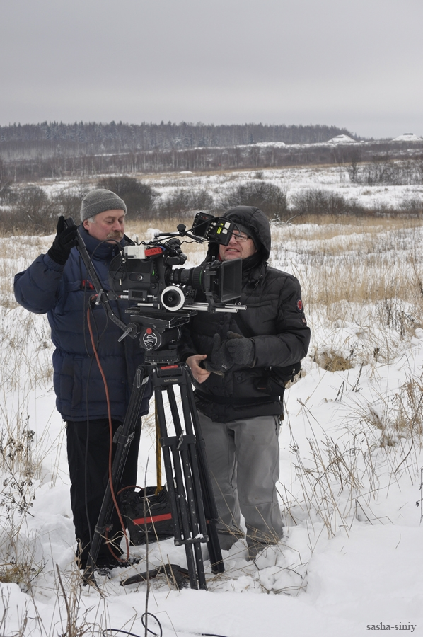 Tanks, Snow And Movie Shooting