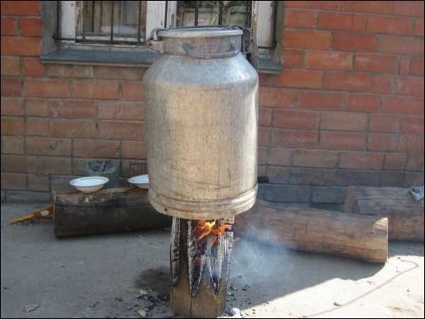Simple Handmade Stove