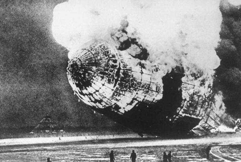Hidenburg Zeppelin the Biggest Aircraft Ever: Crashed!