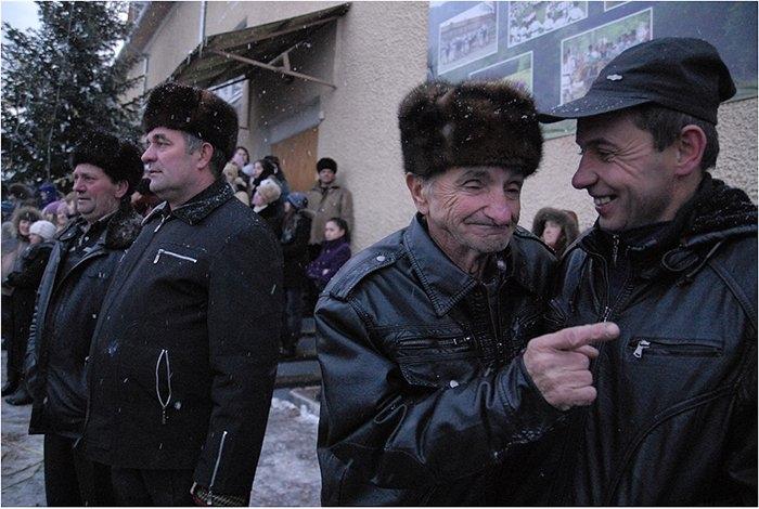 Celebrating Malanka In Ukraine
