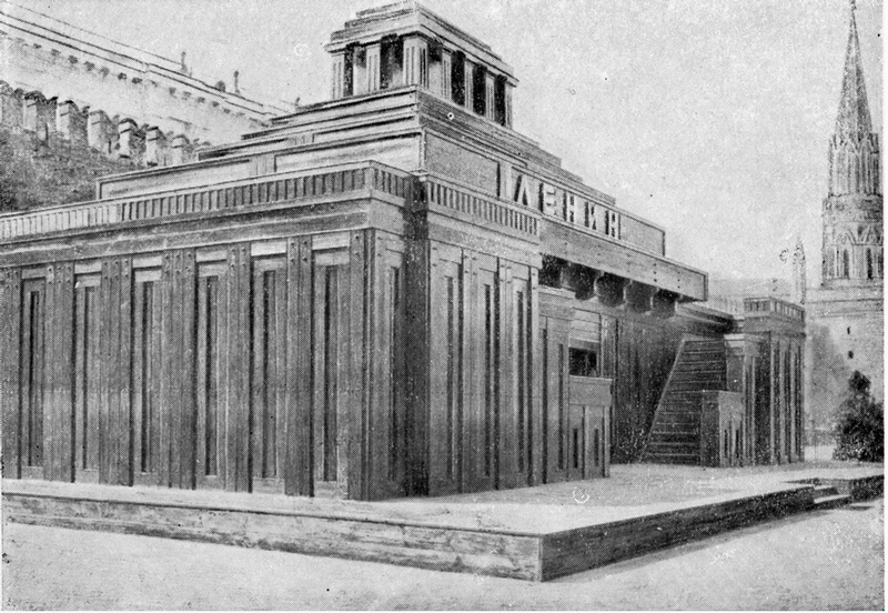 Lenins Mausoleum: How It Came to the World