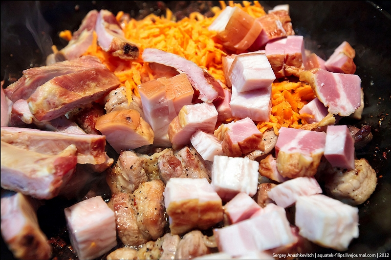 Meat Roasted The Cossack Way