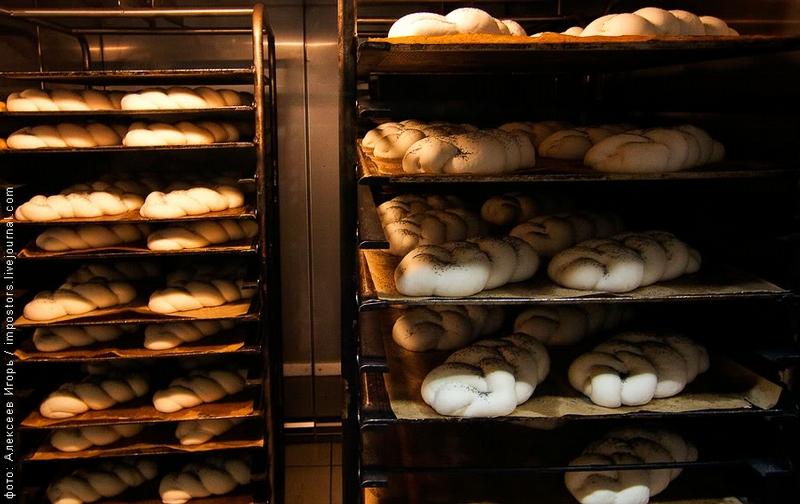 Making White Bread